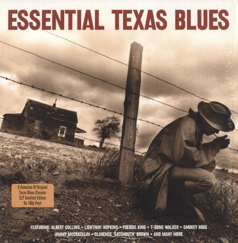 Various-Blues & Gospel Essential Texas Blues - 180gm Vinyl + Shrink 2-LP vinyl record set (Double Album) UK V-B2LES744704