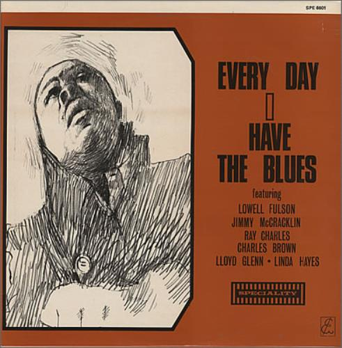 Various-Blues & Gospel Every Day I Have The Blues vinyl LP album (LP record) UK V-BLPEV372995