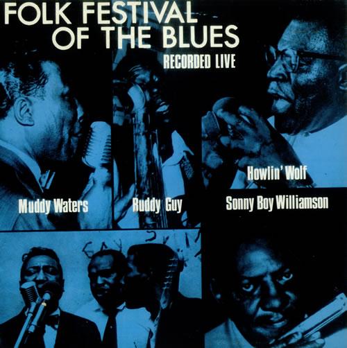 Various-Blues & Gospel Folk Festival Of The Blues vinyl LP album (LP record) UK V-BLPFO538806