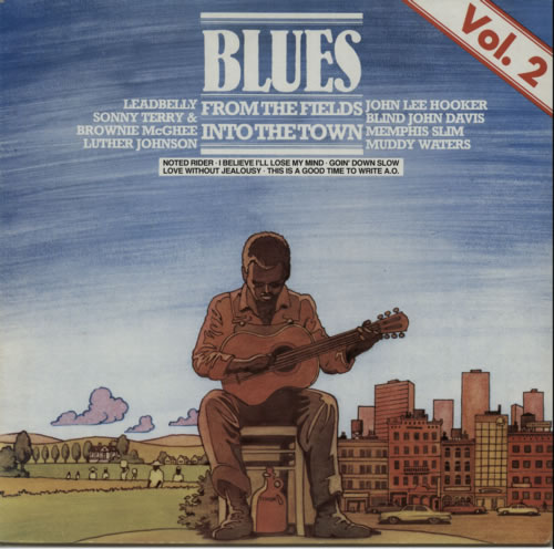Various-Blues & Gospel From The Fields Into The Town Vol. 2 vinyl LP album (LP record) German V-BLPFR619765