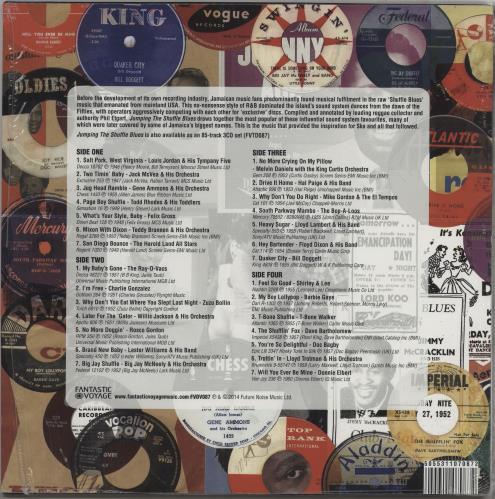 Various-Blues & Gospel Jumping The Shuffle Blues 2-LP vinyl record set (Double Album) UK V-B2LJU754150