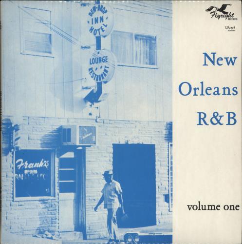 Various-Blues & Gospel New Orleans Rhythm & Blues Vol. 1 vinyl LP album (LP record) UK V-BLPNE706165