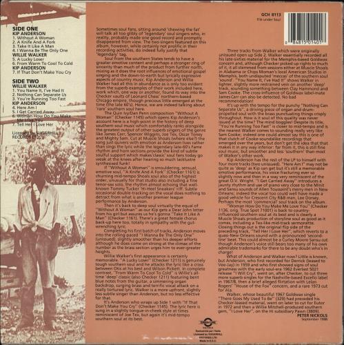 Various-Blues & Gospel Southern Soul Stock Vol. 1 vinyl LP album (LP record) Italian V-BLPSO766618