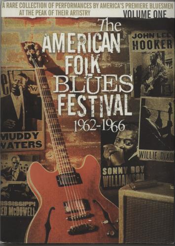 Various-Blues & Gospel The American Folk Blues Festival 1962-1966 Volume One DVD US V-BDDTH670019