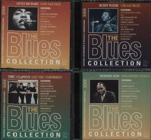 Various-Blues & Gospel The Blues Collection - 16 CDs CD album (CDLP) UK V-BCDTH681302