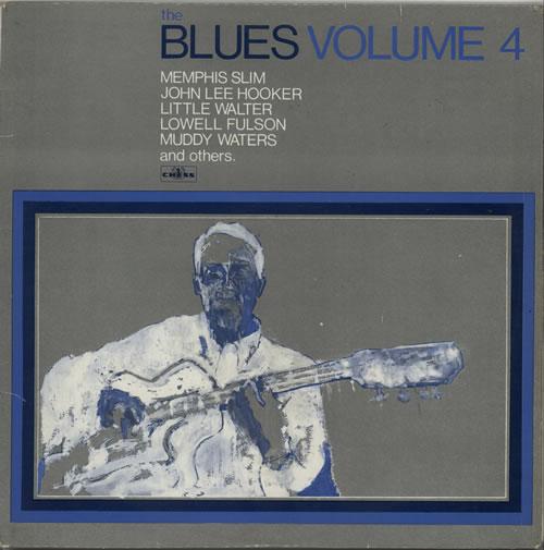 Various-Blues & Gospel The Blues Volume 4 vinyl LP album (LP record) UK V-BLPTH630487