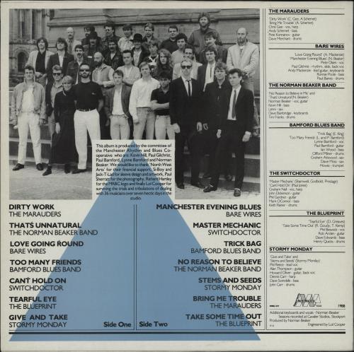 Various-Blues & Gospel Up Jumped The Blues vinyl LP album (LP record) UK V-BLPUP763719