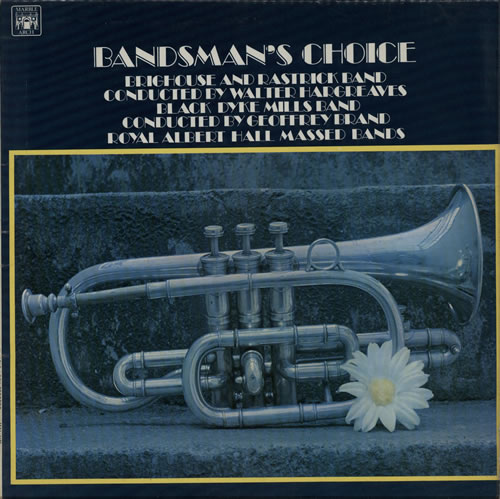 Various-Brass Bands Bandsman's Choice vinyl LP album (LP record) UK VB8LPBA578037