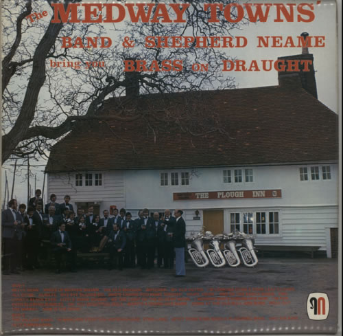 Various-Brass Bands Brass On Draught vinyl LP album (LP record) UK VB8LPBR611608