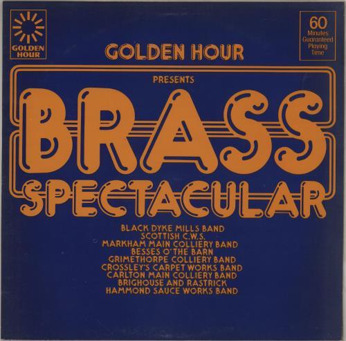 Various-Brass Bands Brass Spectacular vinyl LP album (LP record) UK VB8LPBR764163