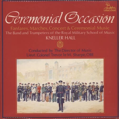 Various-Brass Bands Ceremonial Occasion vinyl LP album (LP record) UK VB8LPCE737958