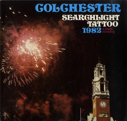 Various-Brass Bands Colchester Searchlight Tattoo 1982 vinyl LP album (LP record) UK VB8LPCO558468