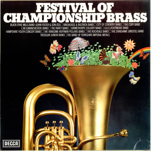 Various-Brass Bands Festival Of Championship Brass box set UK VB8BXFE474803