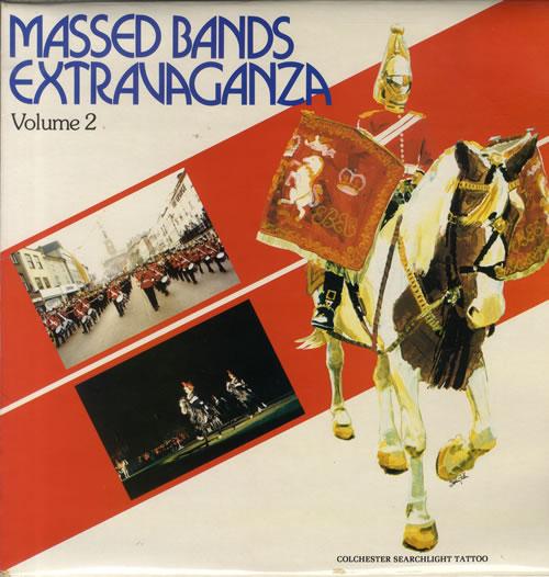 Various-Brass Bands Massed Bands Extravaganza - Volume 2 vinyl LP album (LP record) UK VB8LPMA558469
