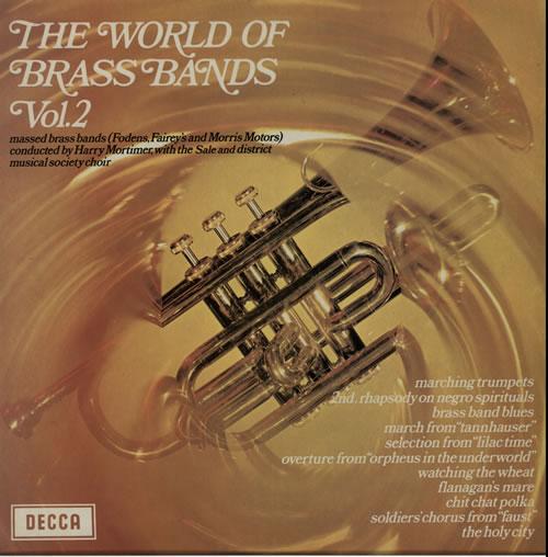 Various-Brass Bands The World Of Brass Bands Vol. 2 vinyl LP album (LP record) UK VB8LPTH630152