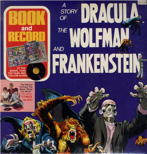 Various-Childrens A Story Of Dracula, The Wolfman And Frankenstein - Sealed vinyl LP album (LP record) US VC0LPAS508114