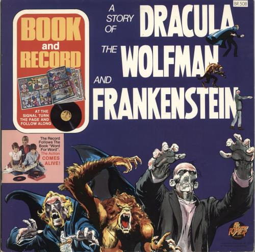 Various-Childrens A Story Of Dracula, The Wolfman, And Frankenstein vinyl LP album (LP record) US VC0LPAS705945