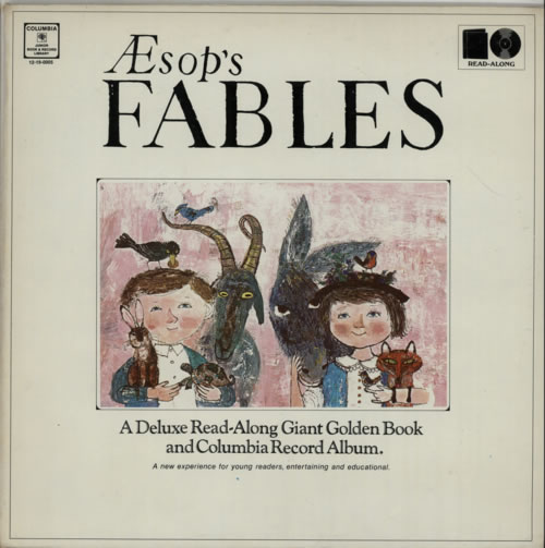 Various-Childrens Aesop's Fables - Sealed vinyl LP album (LP record) US VC0LPAE606358