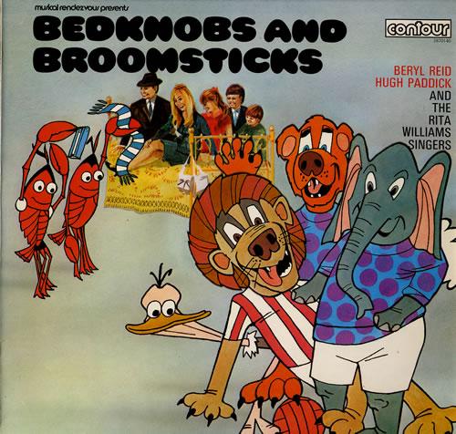 Various-Childrens Bedknobs And Broomsticks vinyl LP album (LP record) UK VC0LPBE559760