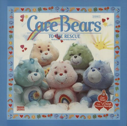 Various-Childrens Care Bears To The Rescue vinyl LP album (LP record) UK VC0LPCA661773
