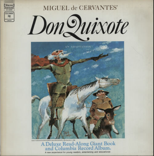 Various-Childrens Don Quixote vinyl LP album (LP record) US VC0LPDO606359