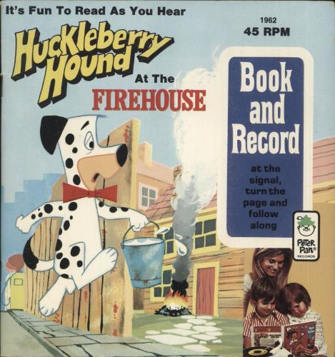 """Various-Childrens Huckleberry Hound At The Firehouse 7"""" vinyl single (7 inch record) US VC007HU721244"""