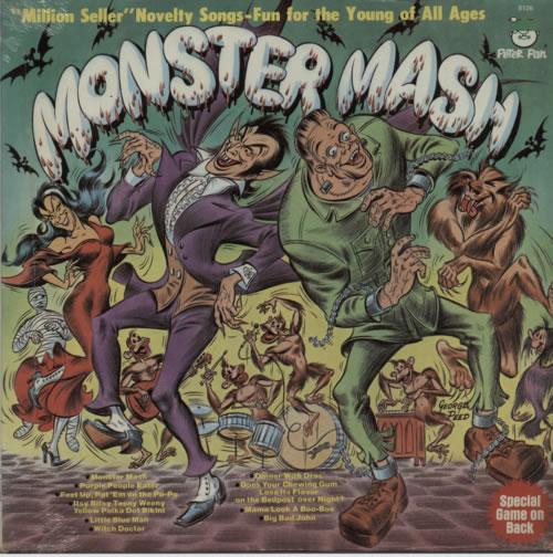 Various-Childrens Monster Mash - Sealed vinyl LP album (LP record) US VC0LPMO606437