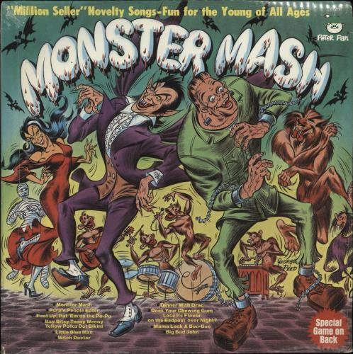 Various-Childrens Monster Mash - Sealed vinyl LP album (LP record) US VC0LPMO705949