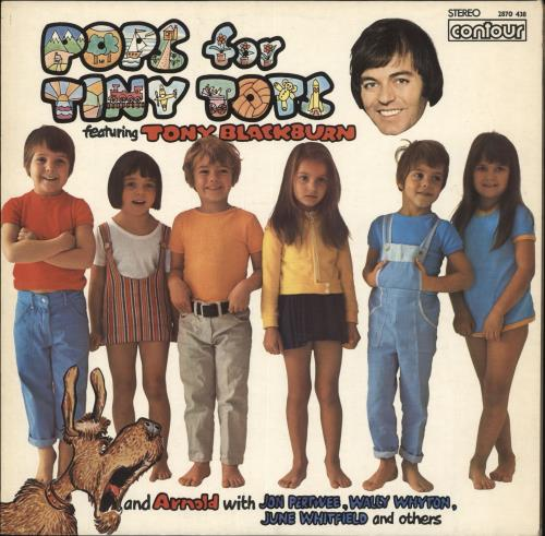 Various-Childrens Pops For Tiny Tots vinyl LP album (LP record) UK VC0LPPO718759