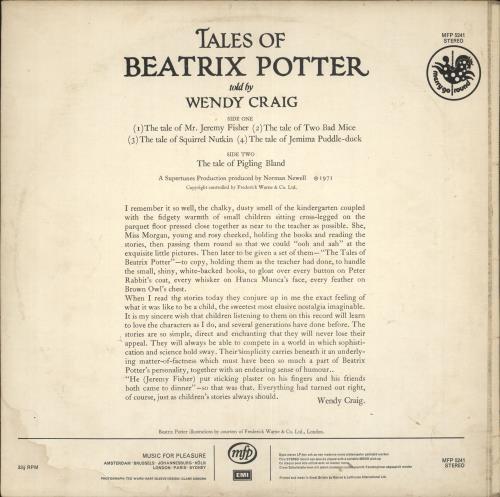 Various-Childrens Tales Of Beatrix Potter vinyl LP album (LP record) UK VC0LPTA720652