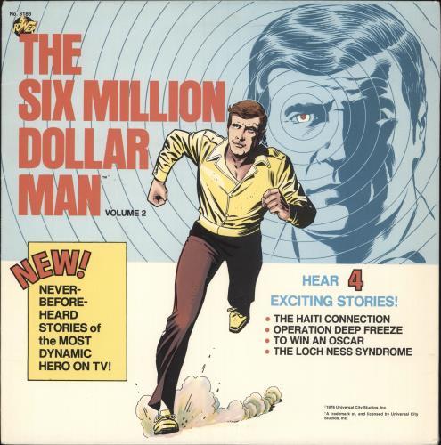 Various-Childrens The Six Million Dollar Man - Volume 2 vinyl LP album (LP record) US VC0LPTH729661
