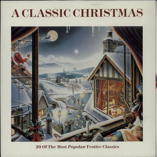 Various-Classical & Orchestral A Classic Christmas vinyl LP album (LP record) UK VAFLPAC577716