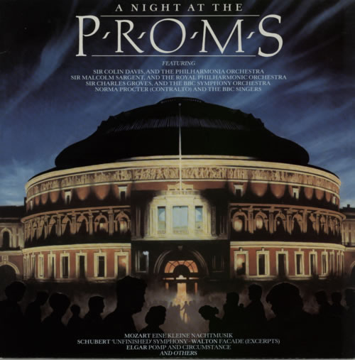 Various-Classical & Orchestral A Night At The Proms 2-LP vinyl record set (Double Album) UK VAF2LAN615789