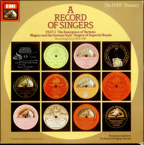 Various-Classical & Orchestral A Record of Singers Part 2 Vinyl Box Set UK VAFVXAR533983