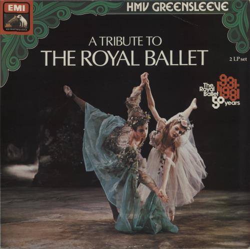 Various-Classical & Orchestral A Tribute To The Royal Ballet 2-LP vinyl record set (Double Album) UK VAF2LAT674053