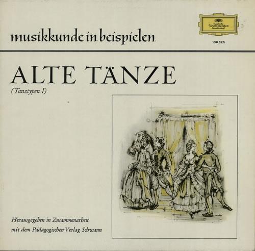 Various-Classical & Orchestral Alte Tänze (Tanztypen I) vinyl LP album (LP record) German VAFLPAL633613