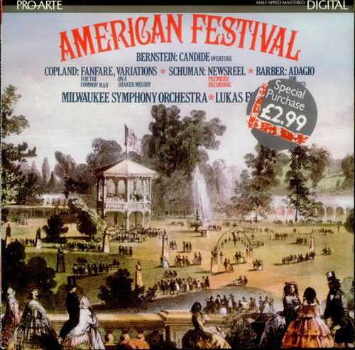 Various Classical Orchestral American Festival Uk Vinyl Lp