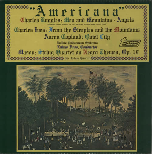Various-Classical & Orchestral Americana vinyl LP album (LP record) UK VAFLPAM633616