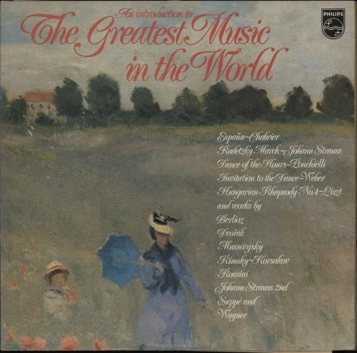 Various-Classical & Orchestral An Introduction To The Greatest Music In The World 2-LP vinyl record set (Double Album) UK VAF2LAN765630