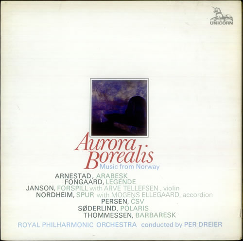 Various-Classical & Orchestral Autota Borealis: Music from Norway 2-LP vinyl record set (Double Album) UK VAF2LAU540398
