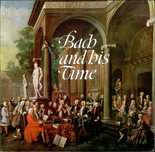 Various-Classical & Orchestral Bach and his Time vinyl LP album (LP record) UK VAFLPBA526788