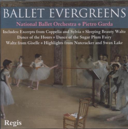Various-Classical & Orchestral Ballet Evergreens CD album (CDLP) Italian VAFCDBA661428