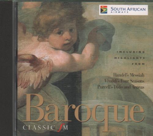 Various-Classical & Orchestral Baroque CD album (CDLP) UK VAFCDBA661436