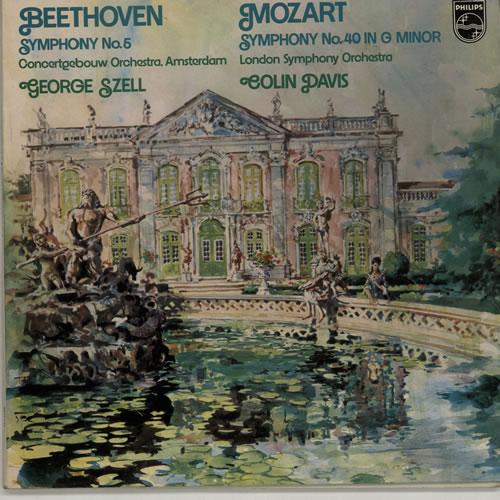 Various-Classical & Orchestral Beethoven: Symphony No. 5 / Mozart: Symphony No. 40 vinyl LP album (LP record) UK VAFLPBE641042
