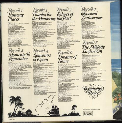 Various-Classical & Orchestral Castaway's Choice Vinyl Box Set UK VAFVXCA721529