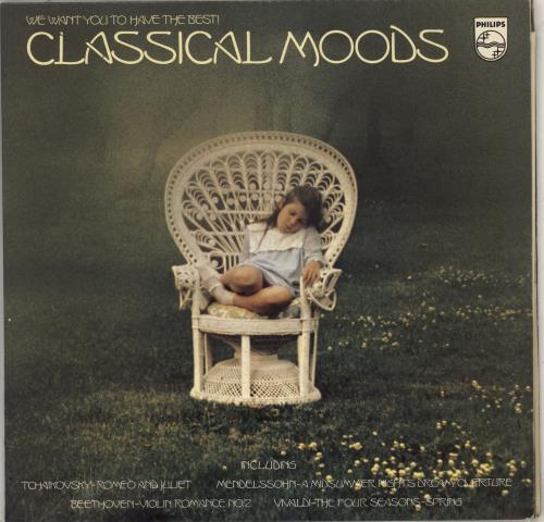 Various-Classical & Orchestral Classical Moods 2-LP vinyl record set (Double Album) UK VAF2LCL711303