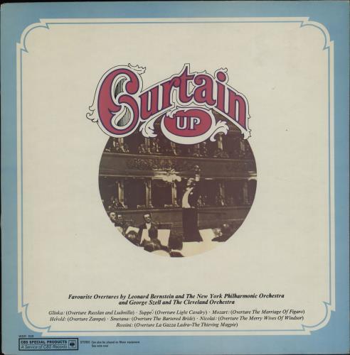Various-Classical & Orchestral Curtain Up vinyl LP album (LP record) UK VAFLPCU761930