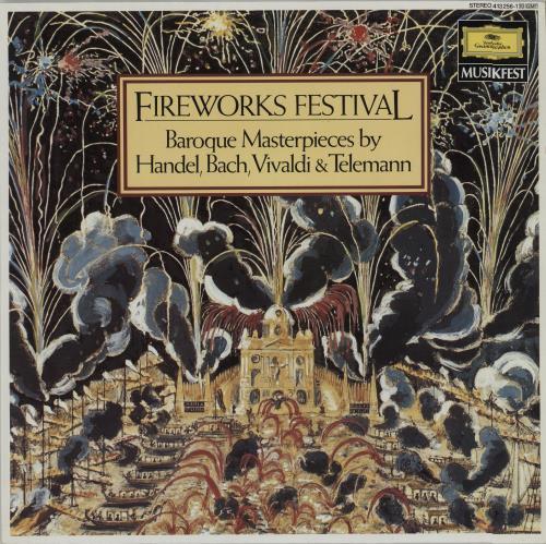 Various-Classical & Orchestral Fireworks Festival vinyl LP album (LP record) German VAFLPFI658966