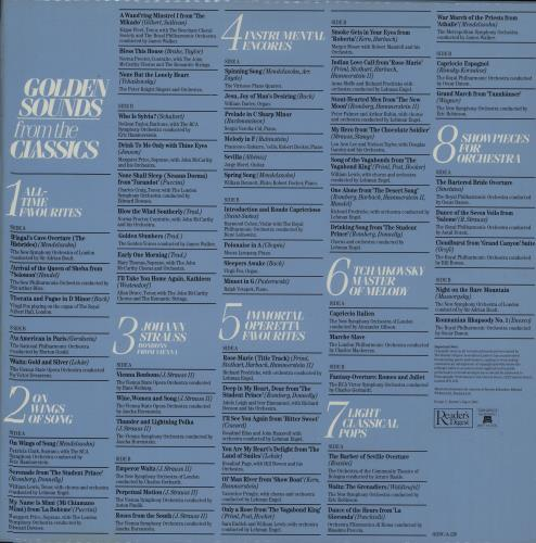 Various-Classical & Orchestral Golden Sounds From The Classics Vinyl Box Set UK VAFVXGO659643