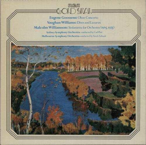 Various-Classical & Orchestral Goossens: Oboe Concerto / Vaughan Williams: Five Variants / Williamson: Sinfonietta vinyl LP album (LP record) Italian VAFLPGO634481
